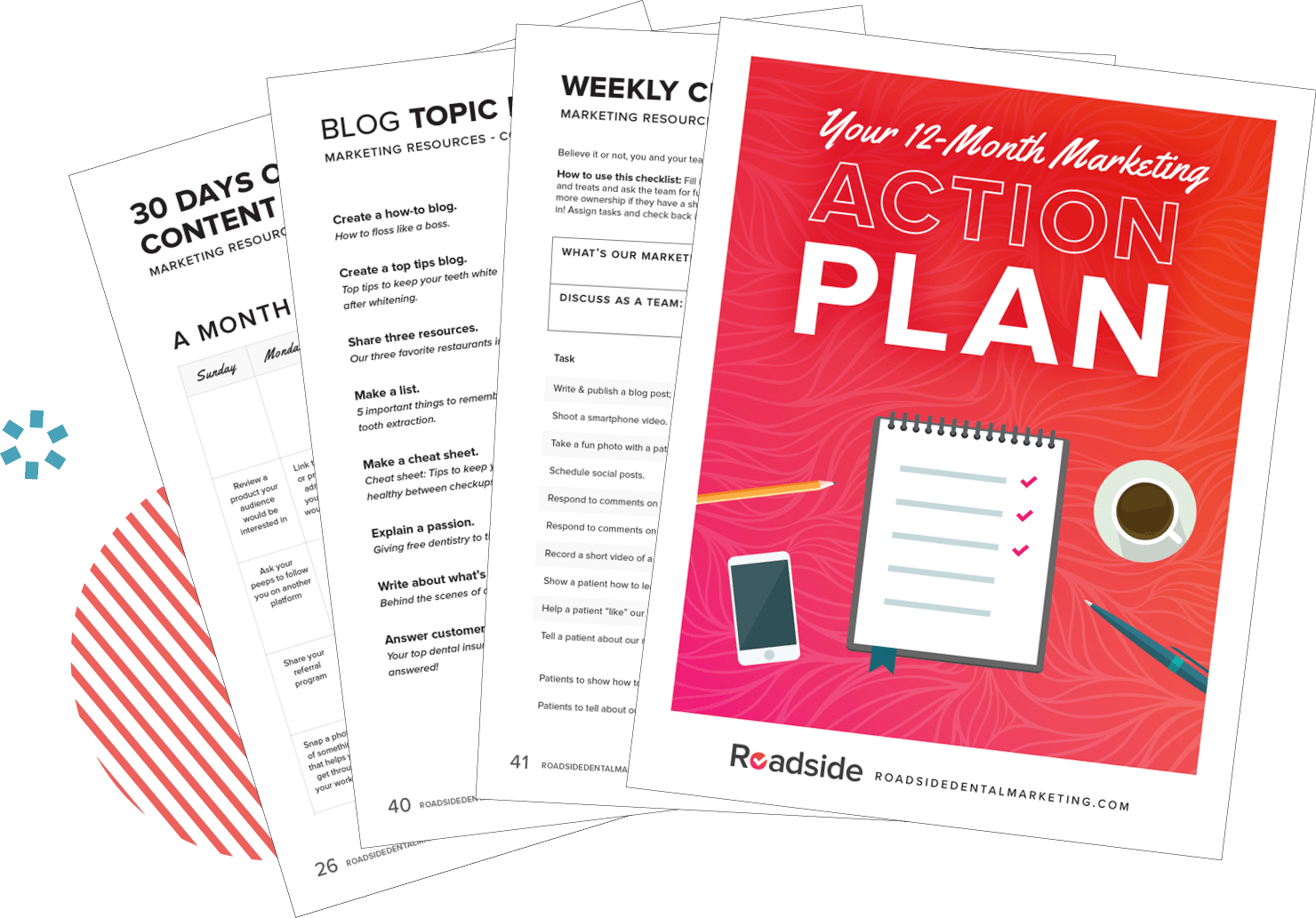 Preview of Marketing Action Plan Workbook